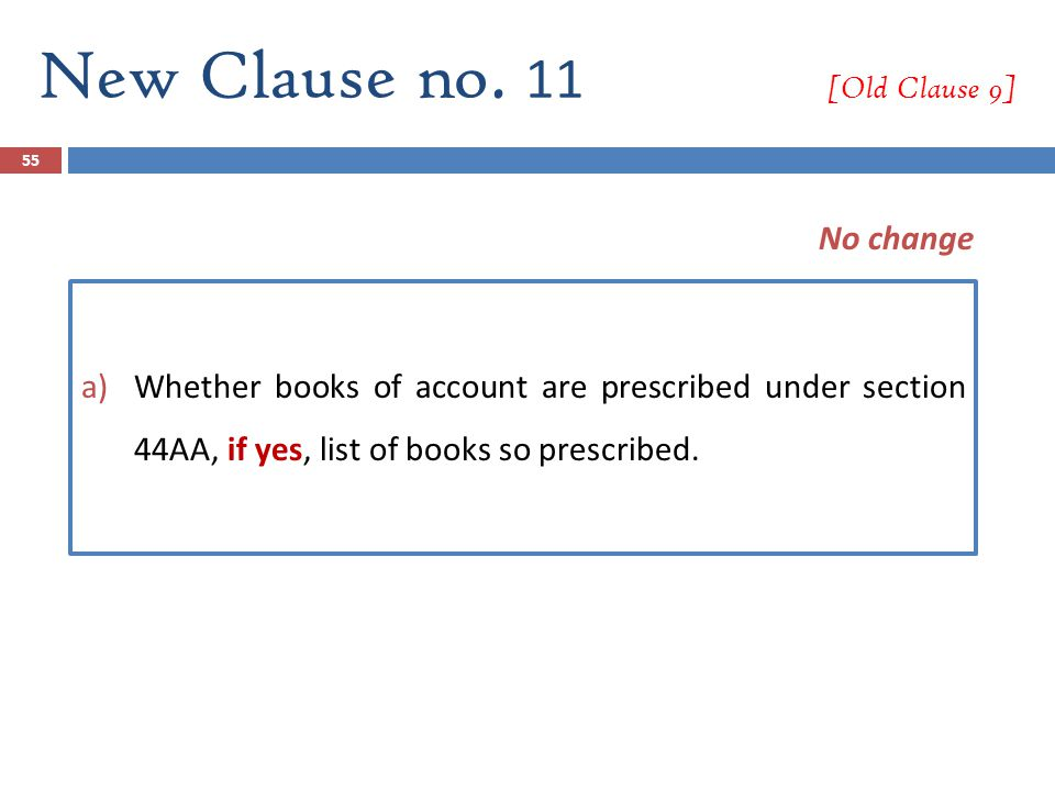 New Clause no. 11 [Old Clause 9]